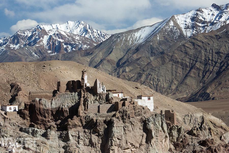 Buddhist Monastery in the Zanskar Range, Ladakh