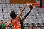 Liga ENDESA 2020/2021. Game: 11.<br /> Club Joventut Badalona vs Valencia Basket: 80-91.<br /> Louis Labeyrie vs Shawn Dawson.
