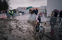 european cx champion Annemarie Worst (NED/Steylaerts-777)<br /> <br /> Superprestige cyclocross Hoogstraten 2019 (BEL)<br /> Women's Race<br /> <br /> ©kramon