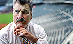 QUEENS, NY – SEPTEMBER 22, 2015: Former MLB player and current baseball analyst Keith Hernandez poses for a portrait at Citi Field stadium in Queens. <br /> <br /> Assignment ID: 30179840A