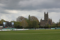 Gloomy skies above the ground during Worcestershire CCC vs Essex CCC, LV Insurance County Championship Group 1 Cricket at New Road on 29th April 2021