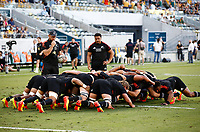 25th September 2021; Townsville, Gold Coast, Australia;  Scrum practice. All Blacks versus Springboks. The Rugby Championship. 100th Rugby Union test match between New Zealand and South Africa. Townsville, Australia.