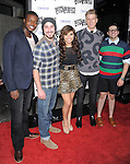 Pentatonix. at the Universal Pictures L.A. Premiere of Pitch Perfect held at The Arclight Theatre in Hollywood, California on September 24,2012                                                                               © 2012 Hollywood Press Agency