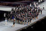 Olympic team of France during the parade of nations at the Opening ceremony of the 2014 Sochi Olympic Winter Games at Fisht Olympic Stadium on February 7, 2014 in Sochi, Russia. Photo by Victor Fraile / Power Sport Images