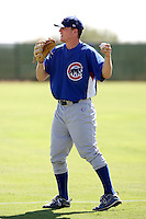 Casey Harman - Chicago Cubs - 2010 Instructional League.Photo by:  Bill Mitchell/Four Seam Images..