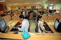 INDIA, Mumbai, Tata Consultancy Service TCS, BPO, callcenter and software programming