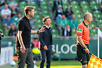 19.09.2020, wohninvest Weserstadion, Bremen, GER,  SV Werder Bremen vs Hertha BSC Berlin, <br /> <br /> <br />  im Bild<br /> <br /> Florian Kohfeldt (Trainer SV Werder Bremen)<br />  Gestik, Mimik, Emotionen in der Cochingzone am Spielfeldrand, <br /> <br /> Foto © nordphoto / Kokenge<br /> <br /> DFL regulations prohibit any use of photographs as image sequences and/or quasi-video.