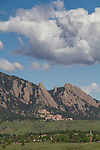 Foothills in summer, Boulder, Colorado .  John leads private photo tours in Boulder and throughout Colorado. Year-round Colorado photo tours.