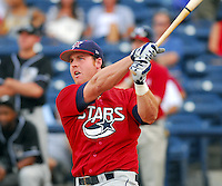 Brendan Katin of the Huntsville Stars at the 2007 Southern League All-Star Game July 9, 2007, at Trustmark Park, sponsored by the Mississippi Braves, in Pearl, Miss. Photo by:  Tom Priddy/Four Seam Images