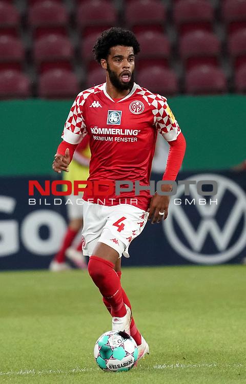 11.09.2020, Opel Arena, Mainz, GER, DFB-Pokal, 1. Runde TSV Havelse vs 1. FSV Mainz 05<br /> , im Bild<br />Jeremiah St.Juste (FSV Mainz 05)<br /> <br /> Foto © nordphoto / Bratic