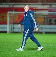 Accrington Stanley manager John Coleman<br /> <br /> Photographer Andrew Vaughan/CameraSport<br /> <br /> The EFL Sky Bet League One - Accrington Stanley v Lincoln City - Saturday 21st November 2020 - Crown Ground - Accrington<br /> <br /> World Copyright © 2020 CameraSport. All rights reserved. 43 Linden Ave. Countesthorpe. Leicester. England. LE8 5PG - Tel: +44 (0) 116 277 4147 - admin@camerasport.com - www.camerasport.com