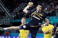 Spain's Gedeon Guardiola during 23rd Men's Handball World Championship preliminary round match.January 15,2013. (ALTERPHOTOS/Acero) /NortePhoto