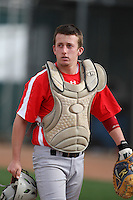 January 16, 2010:  Tyler Silva (Santa Cruz, CA) of the Baseball Factory Pacific Team during the 2010 Under Armour Pre-Season All-America Tournament at Kino Sports Complex in Tucson, AZ.  Photo By Mike Janes/Four Seam Images