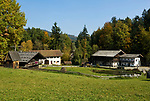 DEU, Deutschland, Bayern, Niederbayern, Naturpark Bayerischer Wald, bei Tittling: Museumsdorf Bayerischer Wald | DEU, Germany, Bavaria, Lower-Bavaria, Nature Park Bavarian Forest, near Tittling: village museum Bavarian Forest