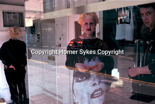 "Punk clothes shop ""Boy"" ""Kings Road""  London England  1980s 80s"