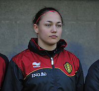 Qualification Women's Euro 2013 - Belgium - Iceland ; Belgie - Ijsland ; Armand Melis Stadion Dessel :.Kelly Ickmans.foto DAVID CATRY / Vrouwenteam.be