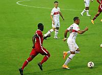 22nd August 2020; Saalfelden, Austria; Pres-season football friendly, Liverpool versus Stuttgart;  Naby Keita FC Liverpool beaten by the run from Roberto Massimo VfB Stuttgart