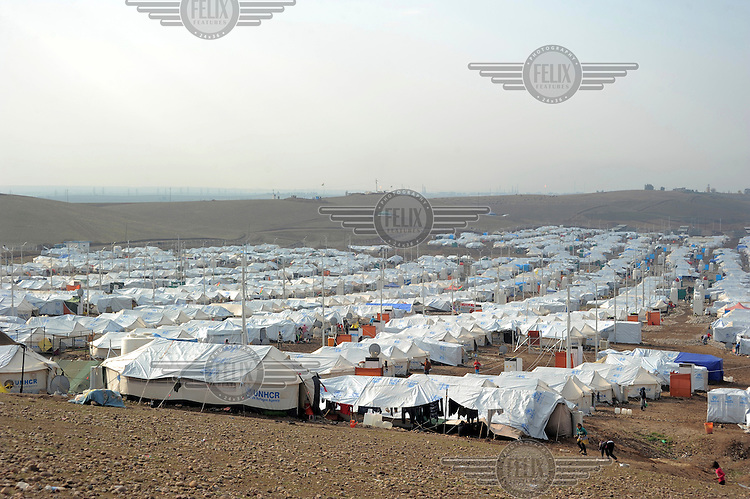 New year's Day at the Kawergosk Syrian Refugee Camp.