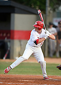 Lake Mary Rams outfielder John Radetsky (11) during a game against the Lake Brantley Patriots on April 2, 2015 at Allen Tuttle Field in Lake Mary, Florida.  Lake Brantley defeated Lake Mary 10-5.  (Mike Janes Photography)
