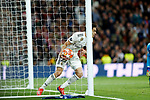 Real Madrid CF's Sergio Reguilon during UEFA Champions League match, Round of 16, 2nd leg between Real Madrid and AFC Ajax at Santiago Bernabeu Stadium in Madrid, Spain. March 05, 2019.