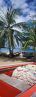 France/DOM/Martinique/Anse Dufour: Bateau de pêche