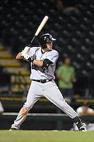 Jupiter Hammerheads outfielder Matt Juengel (25) during a game against the Bradenton Marauders on April 17, 2014 at McKechnie Field in Bradenton, Florida.  Bradenton defeated Jupiter 2-1.  (Mike Janes/Four Seam Images)