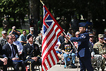The Nevada Air Guard NCO Academy Graduates Association presents the Five Flag Ceremony at the 19th Annual Flag Day Ceremony & U.S. Army Birthday ceremony at the Nevada Veterans Memorial in Carson City, Nev. on Wednesday, June 14, 2017. <br />