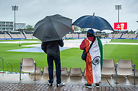 The rain continues to pour at the Hampshire Bowl during India vs New Zealand, ICC World Test Championship Final Cricket at The Hampshire Bowl on 18th June 2021