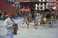 Durbar Square and old Town Area in Kathmandu