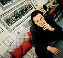 Liam Neeson Irish actor in London 1990,CREDIT Geraint Lewis