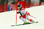 Kirk Schornstein, Sochi 2014 - Para Alpine Skiing // Para-ski alpin.<br /> Kirk Schornstein competes in the men's Super G, standing event // Kirk Schornstein participe au Super G masculin, épreuve debout. 09/03/2014.