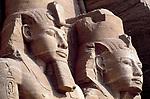 EGY, Aegypten, Abu Simbel: Ramses Statuen | EGY, Egypt, Abu Simbel: Ramses Statues