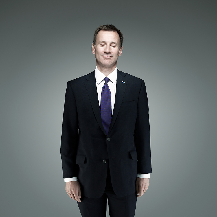 © John Angerson  Phone: +44 (0) 7767 822828<br /> Jeremy Richard Streynsham Hunt MP (born 1 November 1966) is a British Conservative Party politician, who is the Secretary of State for Health, and the Member of Parliament for South West Surrey.<br /> Used Times Magzine June 2013