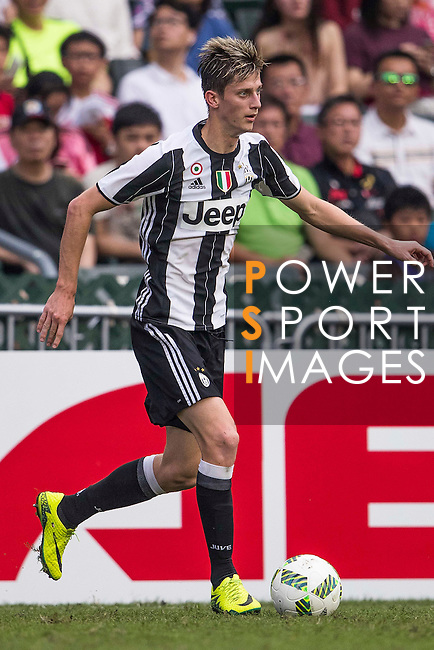Juventus' player Roman Macek in action during the South China vs Juventus match of the AET International Challenge Cup on 30 July 2016 at Hong Kong Stadium, in Hong Kong, China.  Photo by Marcio Machado / Power Sport Images
