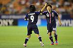 (L to R) Yoko Tanaka (JPN), Kumi Yokoyama (JPN), .AUGUST 26, 2012 - Football / Soccer : .FIFA U-20 Women's World Cup Japan 2012, Group A .match between Japan 4-0 Switzerland .at National Stadium, Tokyo, Japan. .(Photo by Daiju Kitamura/AFLO SPORT) [1045]