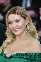 CANNES, FRANCE. July 8, 2021: Abigail Breslin at the Stillwater Premiere at the 74th Festival de Cannes.<br /> Picture: Paul Smith / Featureflash