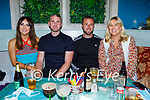Enjoying the evening in Benners on Saturday, l to r: Tina O'Sullivan Dunne, John Dunne, Trevor and Annie Lyons.
