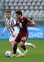 Torino 03-04-2021<br /> Stadio Grande torino<br /> Serie A  Tim 2020/21<br /> Torino - Juventus<br /> Nella foto: Verdi Simone Ronaldo                                  <br /> Antonio Saia Kines Milano
