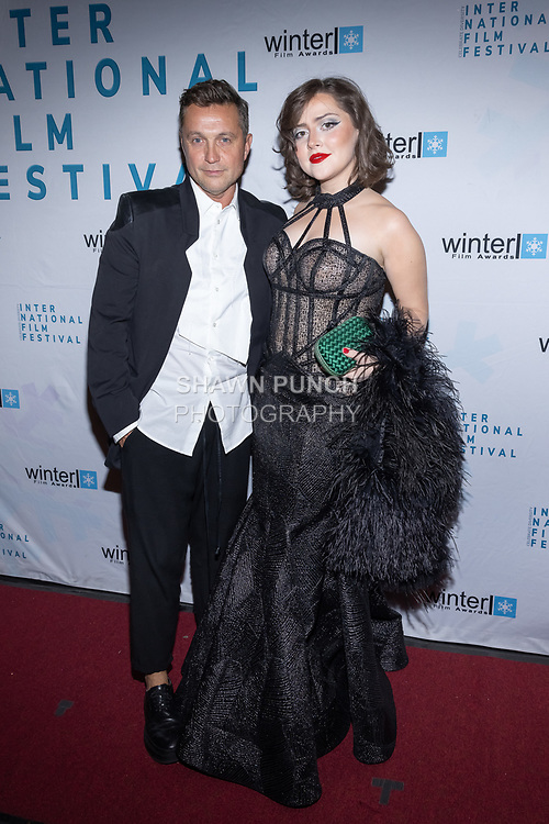 attends the 10th Annual Winter Film Awards International Film Festival Gala on October 2, 2021 at 230 Fift Avenue in New York City.