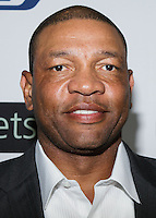 BEVERLY HILLS, CA, USA - OCTOBER 26: Doc Rivers arrives at the CP3 Foundation Celebrity Server Dinner held at Mastro's Steakhouse on October 26, 2014 in Beverly Hills, California, United States. (Photo by Rudy Torres/Celebrity Monitor)