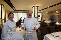 """Europe/Espagne/Pays Basque/Saint-Sébastien:Juan Mari et Elena Arzak  Restaurant """"Arzak"""""""