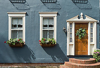 Colonial house, Annapolis, Maryland, USA