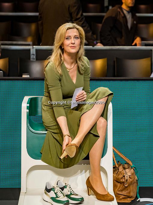 Rotterdam, The Netherlands, 16 Februari 2020, ABNAMRO World Tennis Tournament, Ahoy, Kristy Boogert <br /> Photo: www.tennisimages.com