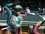 November 7, 2020 : Whitmore, ridden by Irad Ortiz, Jr., wins the Sprint on Breeders' Cup Championship Saturday at Keeneland Race Course in Lexington, Kentucky on November 7, 2020. Candice Chavez/Breeders' Cup/Eclipse Sportswire/CSM