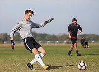 LAKEWOOD RANCH, FL: 2017 Development Academy Winter Showcase & Nike International Friendlies at Premier Sports Campus in Lakewood Ranch, Fla., on December 4, 2017. (Photo by Casey Brooke Lawson)