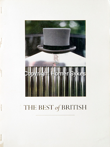 """THE BEST OF BRITISH. Published by the """"Menswear Association of Britain to promote British menswear throughout the world"""", in the 1980s.  24 pages 13.5 x 9.5 inches. Staple bound, originally bound into a variety of fashion magazines. These copies were the 'run on', and were bound especially for me.<br /> <br /> £20.00 + £4.50 p&p"""