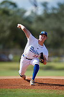 Nick Bitsko during the WWBA World Championship at the Roger Dean Complex on October 19, 2018 in Jupiter, Florida.  Nick Bitsko is a right handed pitcher from Doylestown, Pennsylvania who attends Central Bucks-East High School and is committed to Virginia.  (Mike Janes/Four Seam Images)