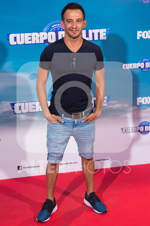 "Spanish director Alejandro Amenabar during the premiere of ""Cuerpo de Elite"" at Capitol cinema. Madrid. August 25, 2016. (ALTERPHOTOS/Rodrigo Jimenez)"