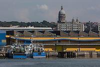 France, Pas-de-Calais (62), Côte d'Opale, Boulogne-sur-Mer: Le Port de pêche // France, Pas de Calais, Opal Coast, Boulogne sur Mer: The fishing port