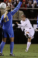 COLLEGE STATION, TX - DECEMBER 4:  Teresa Noyola of the Stanford Cardinal during Stanford's 2-1 (OT) win over the UCLA Bruins in the NCAA Women's Soccer Championships semi-finals on December 4, 2009 in College Station, Texas.